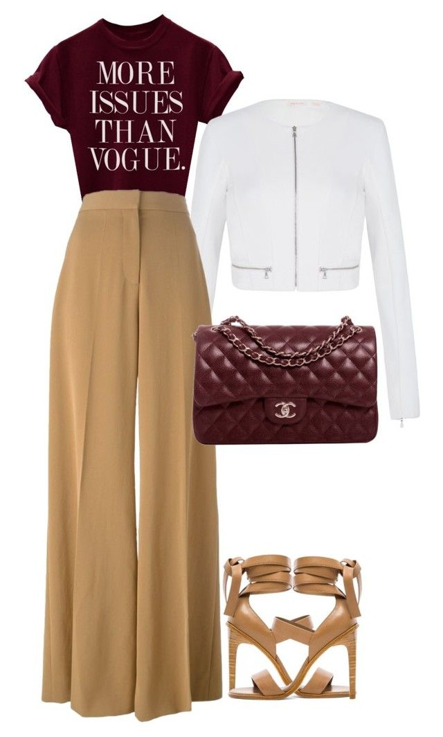 """""""Unlimited."""" by operationvogue ❤ liked on Polyvore featuring sass & bide, STELLA McCARTNEY, Chanel and TIBI"""