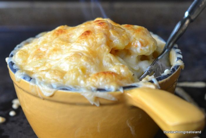 Smokey Gouda Mac and Cheese-My second daughter just barely made it home yesterday after