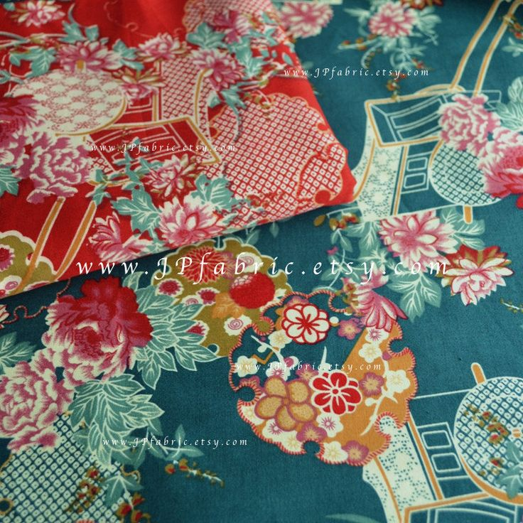 Japanese Traditional fabric Oriental Fabric JP100271 by JPfabric on Etsy https://www.etsy.com/listing/476255429/japanese-traditional-fabric-oriental