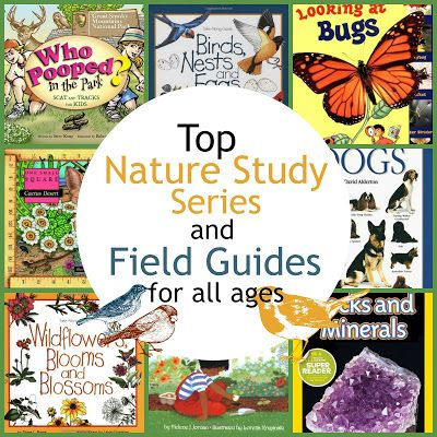 Top Nature Study Series and Field Guides for all Ages
