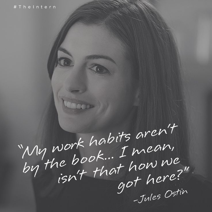 Anne Hathaway Quotes: 84 Best Images About THE INTERN On Pinterest