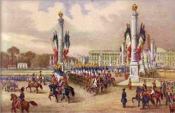 L'Empereur arrive en France - Esplanade des Invalides 2