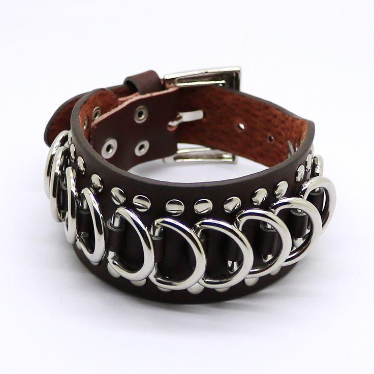 Cheap leather bracelet, Buy Quality leather bracelet wholesale directly from China wholesale leather bracelets Suppliers: 2016 Retro Silver Jewelry Wholesale Leather Bracelets New Men's Fashion Casual Men's Bracelet Punk Bangle Bracelet