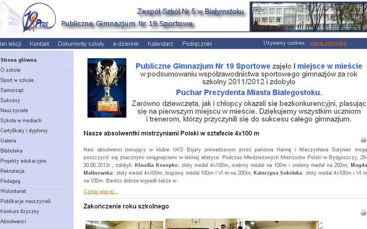 Mają się czym chwalić, ale nie tylko sukcesy były tematem spotkania podsumowującego w Gimnazjum w Białymstoku. Koordynatorka, pani Emila Walczuk, opisuje także problemy, jakie pojawiły się podczas realizacji programu Szkoła z klasą 2.0 oraz podaje zarys planu na kolejny rok. http://szkolazklasa2012.ceo.nq.pl/dokument_widok?id=9953