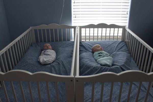 "Surviving Reflux & Colds: Angle Sleeping and Crib ""Nests"" 