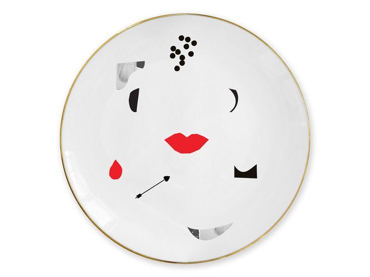 """""""Kiss"""" plate / Talerz """"Kiss"""""""