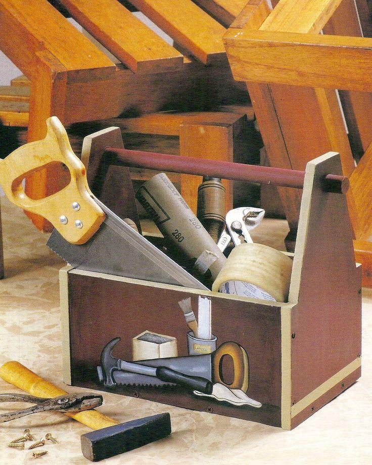 29 best cajas de madera para guardar y decorar images on - Cajas de erramientas ...