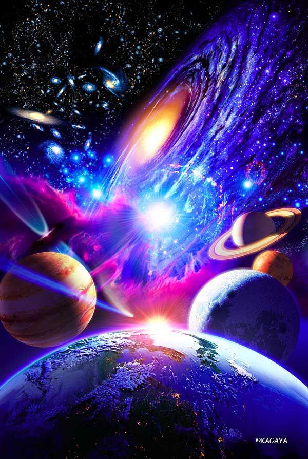 Kagaya Yutaka - Space the Universe