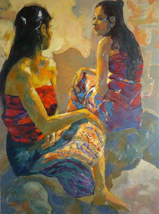 Pranoto - Dua Gadis-gadis  Bali