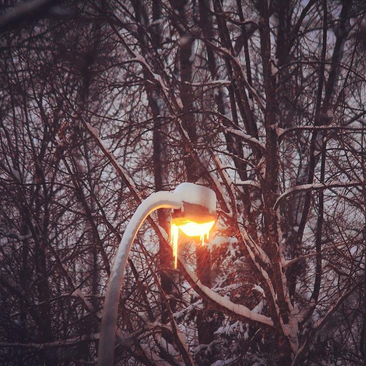 Winter needs lights.