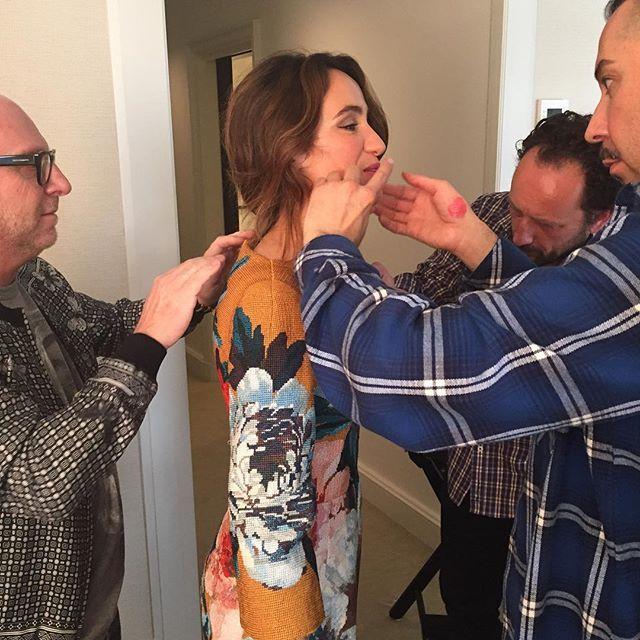 Everybody on  @cocobrandolini shes ready x the #metgala  #madeinitaly Dolce & Gabbana Alta Moda
