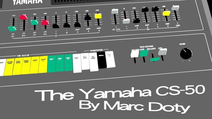 The Yamaha CS-50 Part 4- The Amplifier