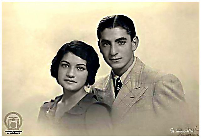 H.H. The Crown Prince Mohamed Reza Pahlavi & His twin Sister Princess Ashraf Pahlavi