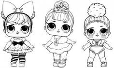 LOL Surprise Doll Coloring Pages – Free Printable Coloring .. @ Just Coloring – Royal icing cookies