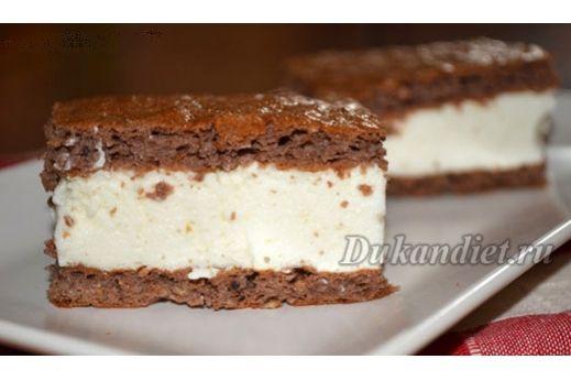 Dort «Milchschnitte» | Dukanova dieta