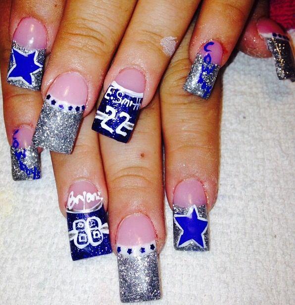 Acrylic nails by Thelma @ Thelma's VIP Nail Salon and Spa
