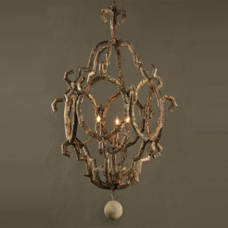 Bobo intriguing objects baroque chandelier · driftwood chandelierrustic chandelierchandelier lampsdriftwood