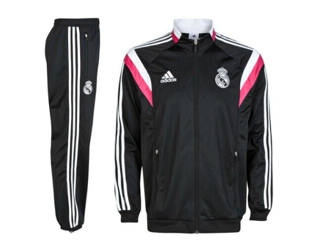 Chandal Real Madrid 2014-2015 -- Negro - €55.00 :
