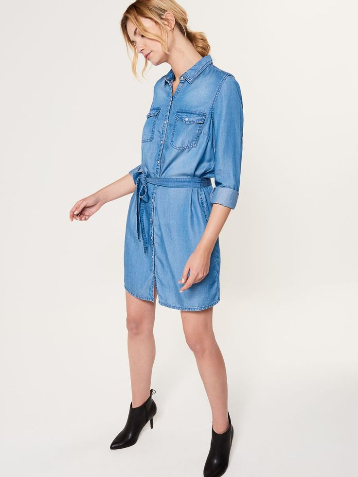 Rochie gen cămașă subțire, MOHITO, RL740-55J