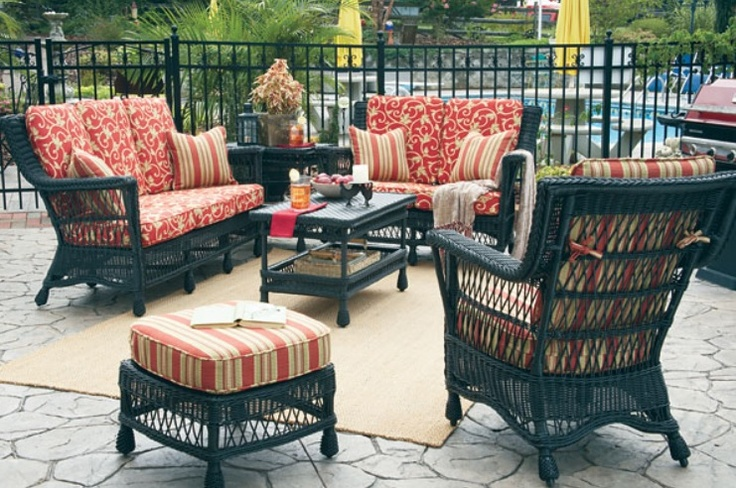 Outdoor Wicker - seating collection