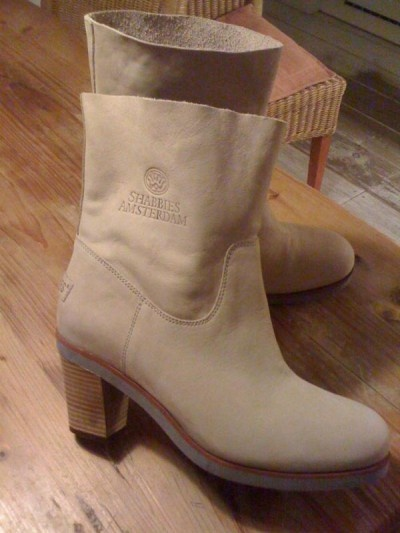 taupe Shabbies boots