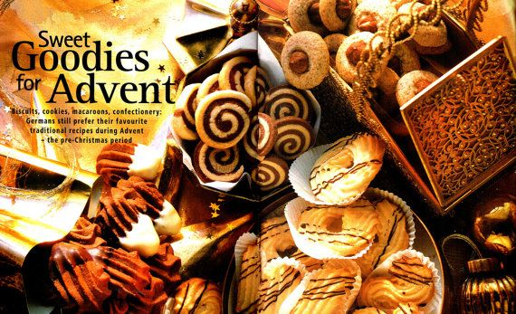 Last-Minute CHRISTMAS Scrumptious 'German' Confectionary Recipes for you to Bake, Biscuits, Macaroons, Cookies