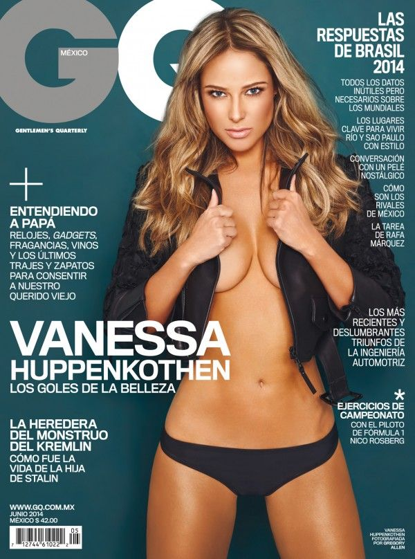 Vanessa Huppenkothen en couverture du magazine GQ Mexico - by Gregory Allen - Juin 2014 / / #cover #vanessahuppenkothen #gregoryallen #gqmagazine #model #photoshoot #girls #sexy #revue #journal #revista #rivista #portada #hot #femme #nude #woman
