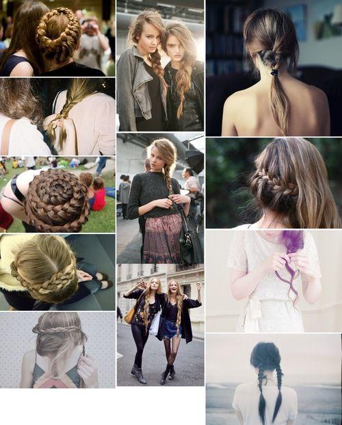 braids: Hair Wars, Hairs, Hair Glory, Braid Collages