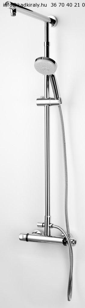Sanotechnik Sínes zuhanyszett AS655 - Kádkirály.hu - Akciós kád, kádak, csaptelep, zuhanykabin, kandallo bútor-Paradyz-csempe-Ravak-Riho-Marmite-Radeco-Feromix-Hansgrohe - webáruház, webshop
