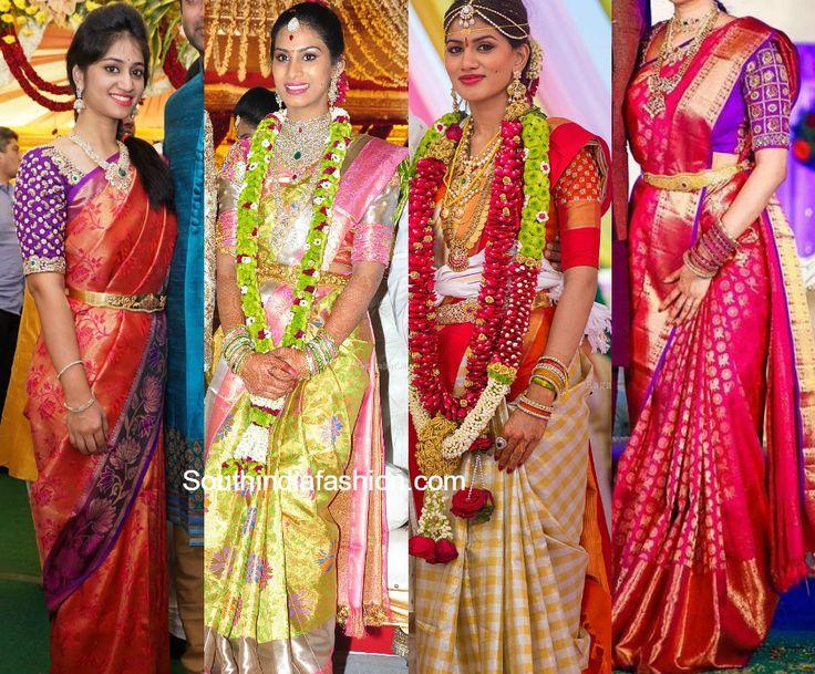 6 Exquisite Blouse Designs For Kanjeevaram Silk Sarees