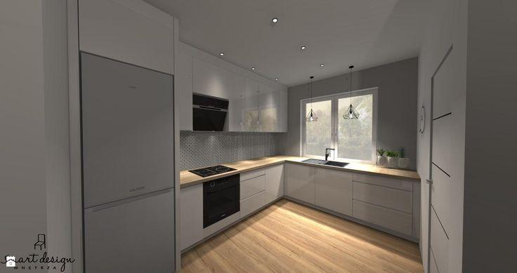 Kuchnia zaprojektowane przez architekta wnętrz Sare Tokarczyk. - zdjęcie od Smart Design Sara Tokarczyk - Kuchnia - Styl Nowoczesny - Smart Design Sara Tokarczyk
