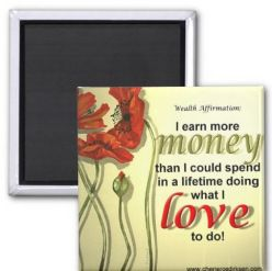Affirmation magnet  #StockingFillers #Christmas2015