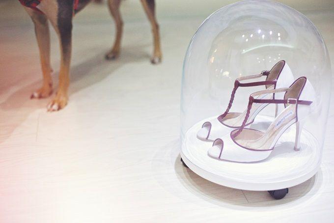 Νυφικά χειροποίητα παπούτσια by Femme Fanatique | The Wedding Tales Blog