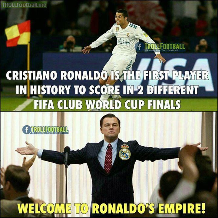 Ronaldo for you! 🔥 Like Troll Football Generation 👍🏻