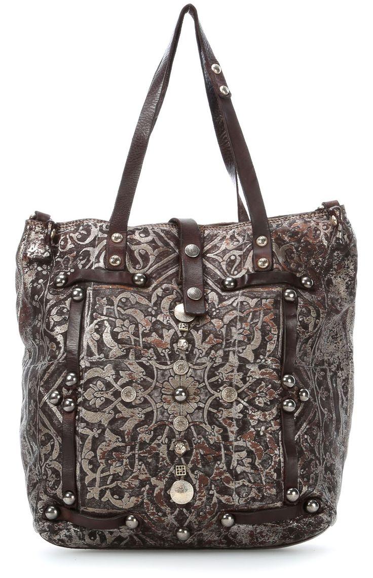 campomaggi laminati tote silver 32 cm c3371clavl 2025 designer bags shop bags. Black Bedroom Furniture Sets. Home Design Ideas