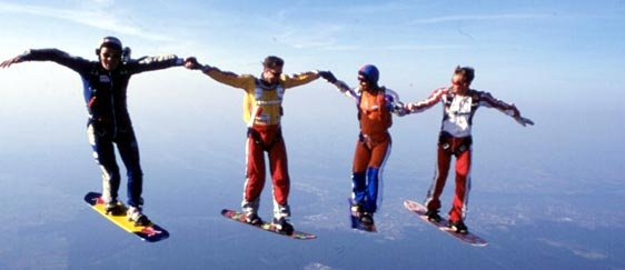 Skysurf - this would be a ton of fun!!
