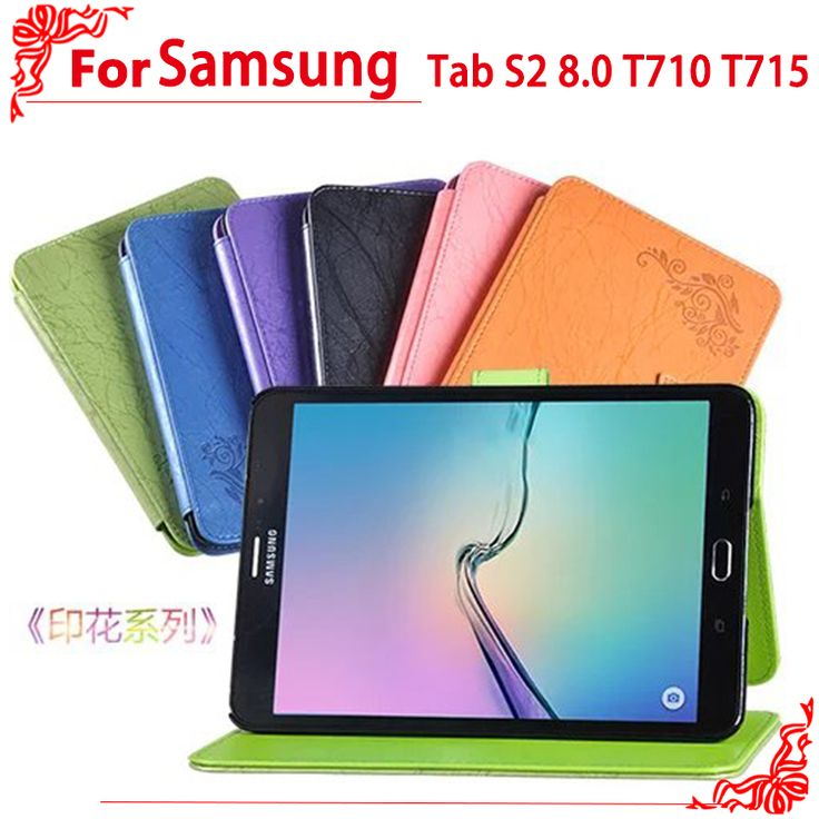 "For Samsung  T710 T715 8"" tablet pc case high quality Pu Leather Case for Samsung Galaxy Tab S2 8.0 T710 T715 #Affiliate"