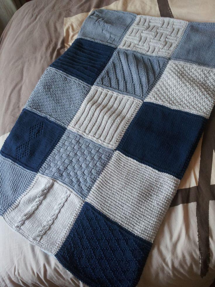 Les 25 meilleures id es concernant tricot gratuit sur pinterest mod les de tricot gratuits - Modele plaid tricot gratuit ...