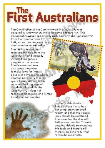 Lesson Zone AU - The First Australians