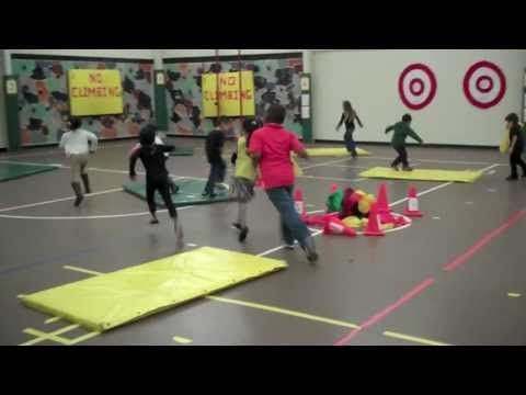 Sharks And Sailors - PE Tag Game At West Newton - YouTube