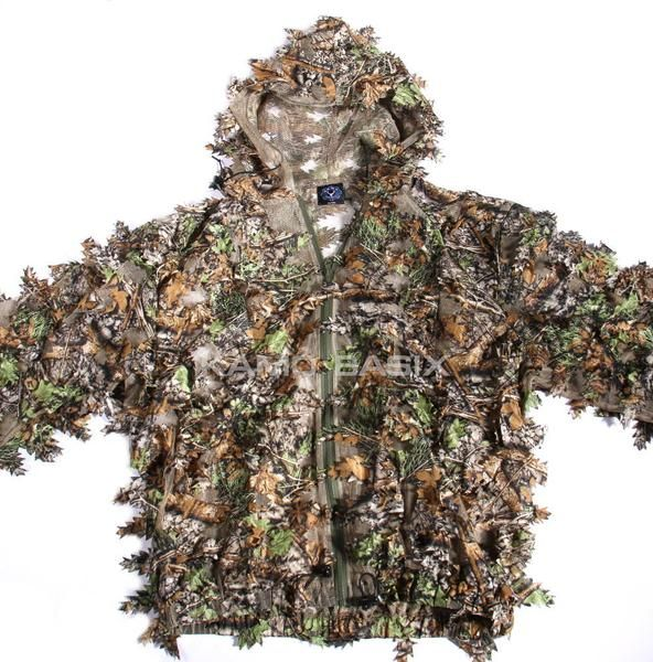 1481e3212ca1f KamoLeaf 3D Leaf Camouflage Ghillie Suit by Kamo Basix™ This 3D Leafy  camouflage suit is