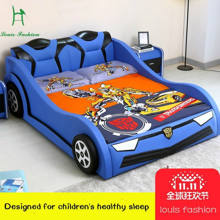 Luois fashioChildren der Auto Kreative Bett 1,2 Meter Einzigen Jungen und Mädch…