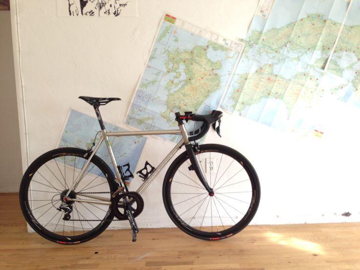 MULLER MF853 Ano Reynolds853 Fillet brazen  Road bike ICARO wheel 3838C