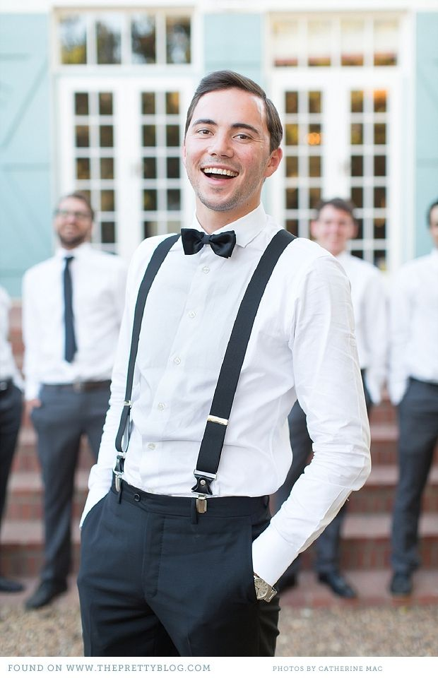 Bow Ties to Wear With Suspenders. Like hot bread and butter or fine wine and cheese, bow ties and suspenders go together perfectly. We have quite the growing collection of fine bow ties in our collection to complement our spiffy suspenders.