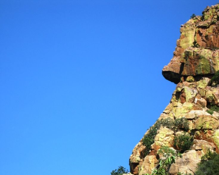 Man's Face in the Soutpansberg