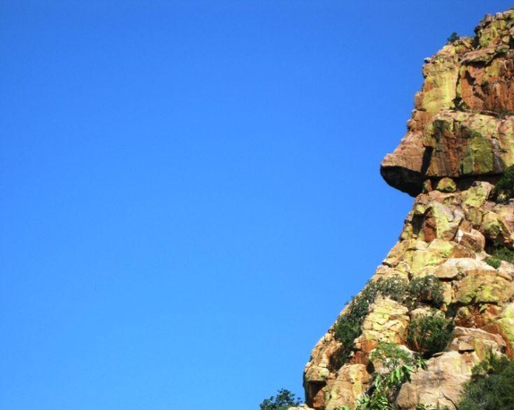 Man's Face in the Soutpansberg