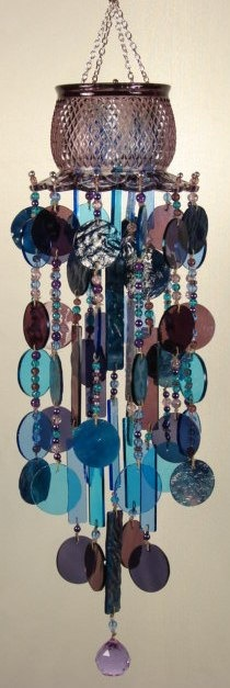 Special K  Wind Chimes  Stained Glass Window by SpecialKWindchimes