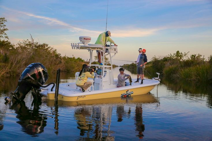 Versatility should be a priority when you're in the market for a new boat. Whether you fish inshore, venture offshore on calm days...or your weekends are spent with your family at the sandbar - a bay boat is perfect for all-around use. In a bay boat; you have the shallow-water capability of a skiff, but…