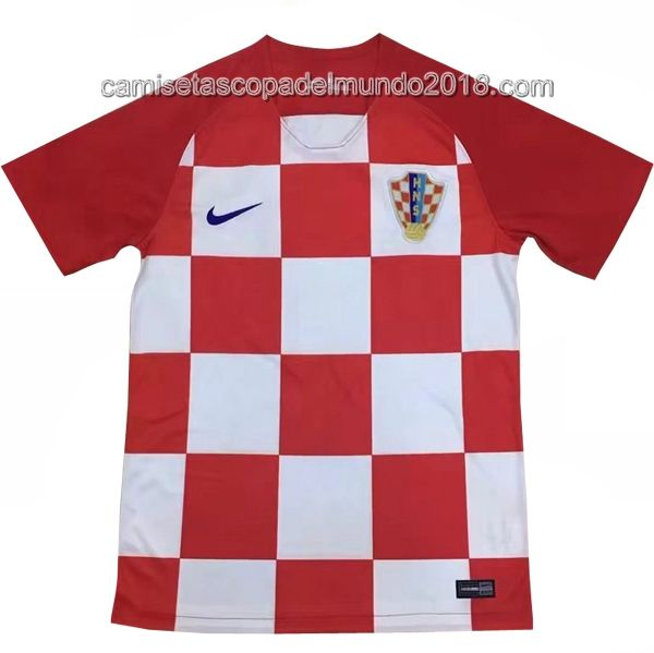 Primera Camiseta Seleccion Croacia Mundial 2018