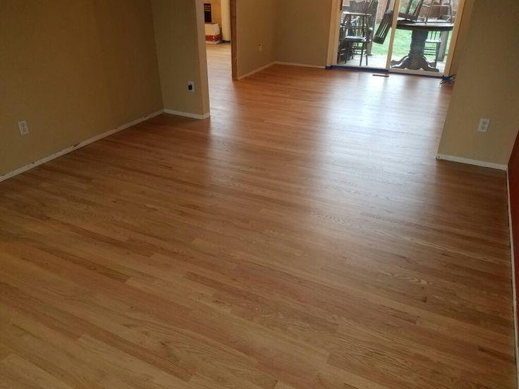 2 1/4 Red Oak Hardwood. Sanded. Sealed & Finished by: Mid Valley Hardwood LLC. Battle Ground, Wa 98604.